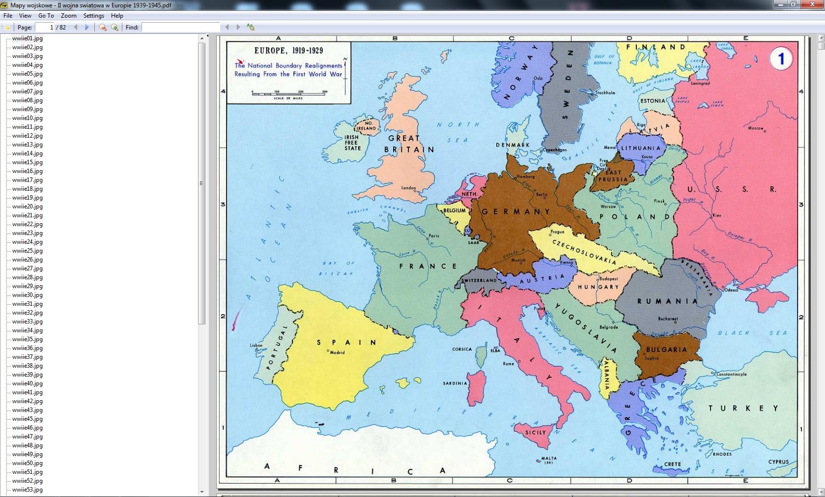 Mapy Wojskowe Ii Wojna Swiatowa W Europie 1939 1945 Pdf Nic
